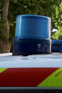 Blaulicht eines Einsatzfahrzeuges