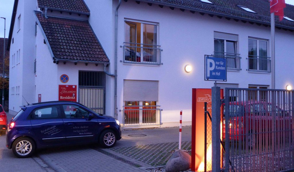 Anfahrt zum Pro Seniore Neuhofen
