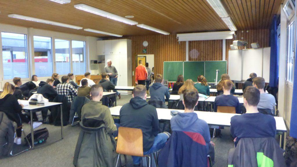Realschuke Plus in Schifferstadt Unterrichtsraum 2