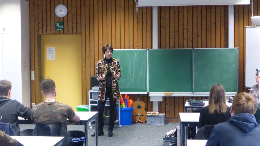 Realschuke Plus in Schifferstadt Unterrichtsraum