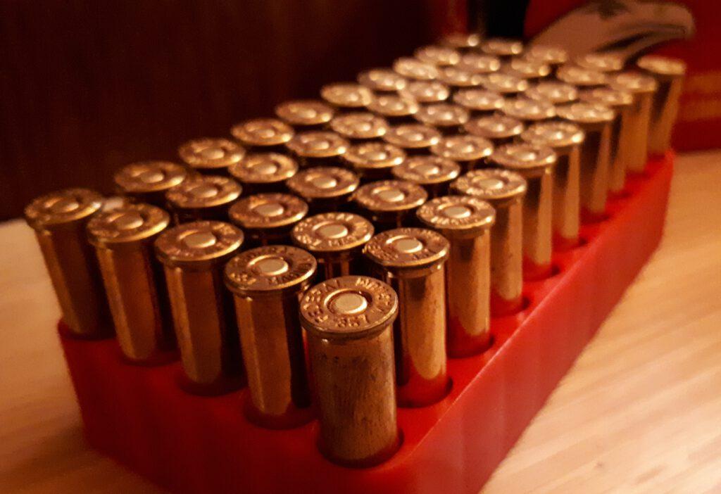 50 Schuss Munition für Schusswaffen