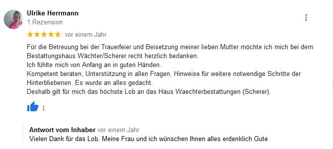 Google Beurteilung Ulrike Herrmann