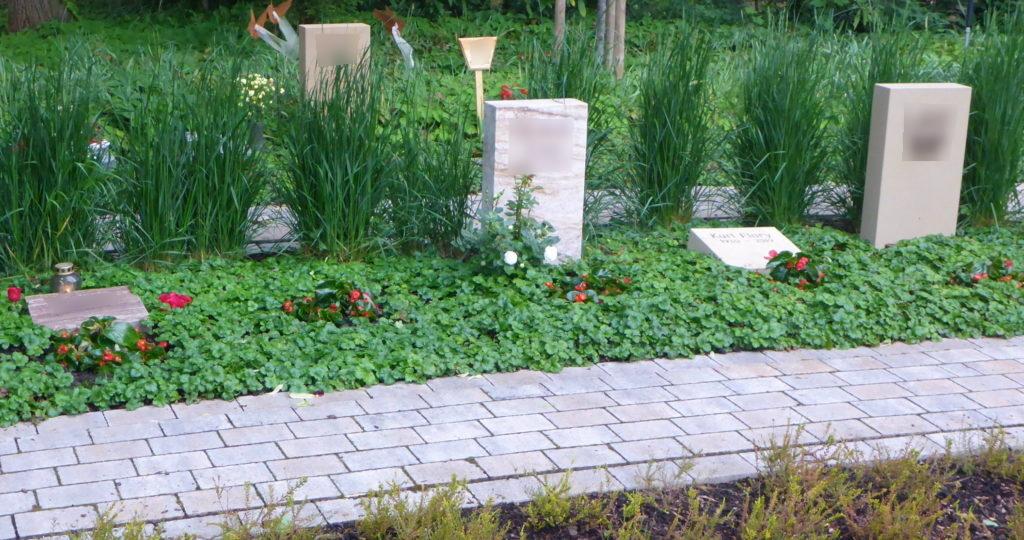 Memoriam-Garten, Urnenfeld auf dem Hauptfriedhof Ludwigshafen