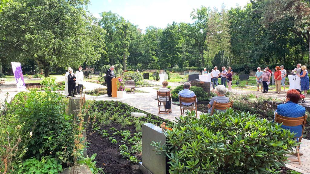 Einsegnung Memoriam Garten Limburgerhof